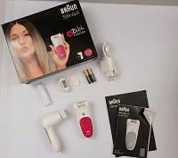 Комплект красоты Bibi Edition. Эпилятор Braun Silk epil 5 SE 5539 Wet&Dry  + Щеточка для лица.