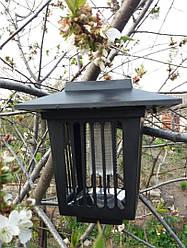 Светильник газонный (садово-парковый) на солнечной батарее с выкл. от комаров Lemanso LM3409 большой