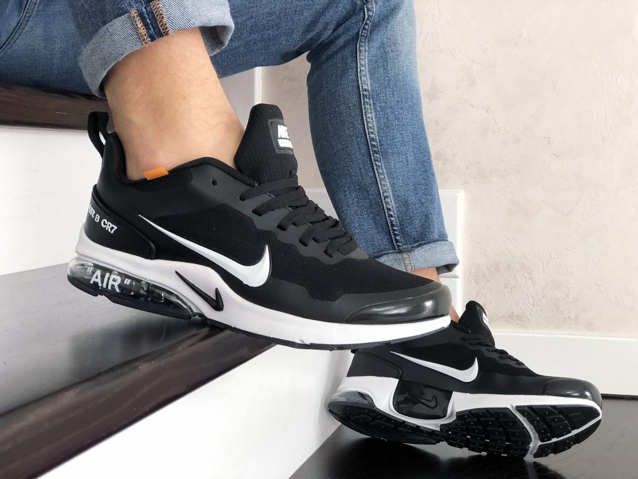 Мужские модные кроссовки Nike Air Presto CR7,черно белые
