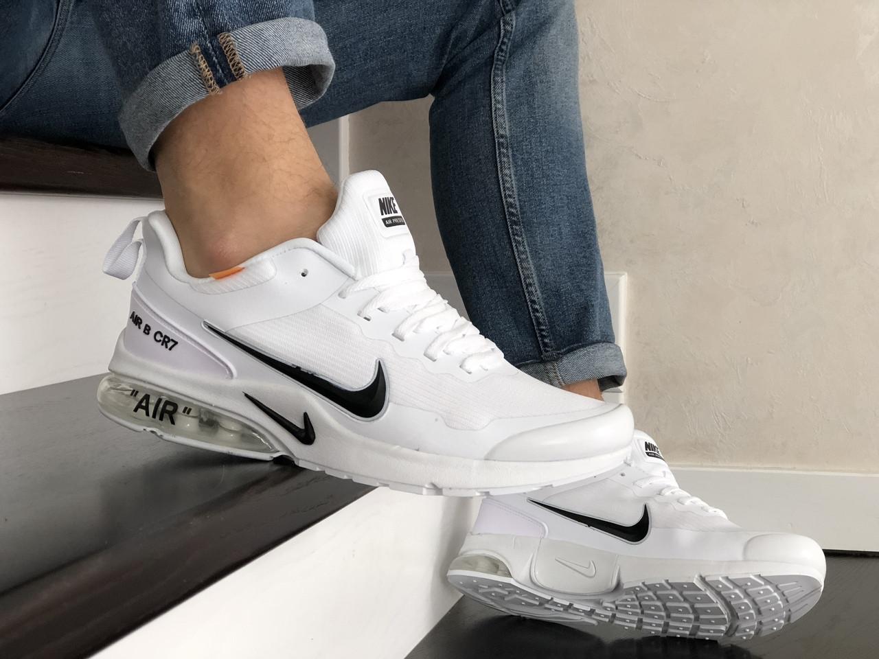 Мужские модные кроссовки Nike Air Presto CR7,белые