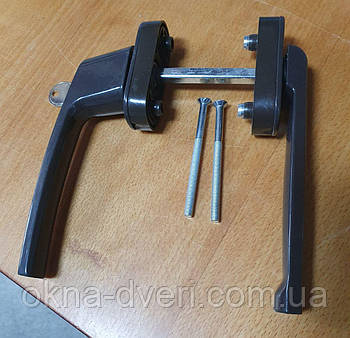 Ручка для раздвижных дверей ЗЕРО-ЛАРА с ключом двухсторонняя
