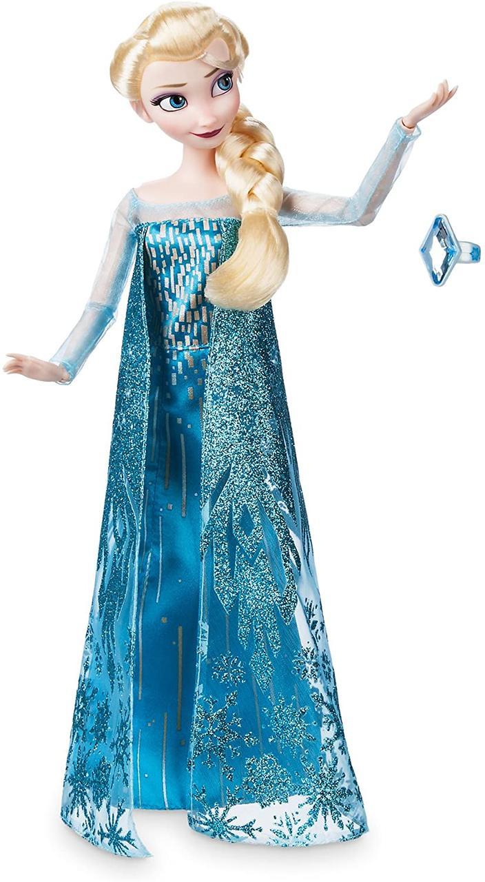Кукла Disney Princess Эльза Frozen Холодное сердце 2 с кольцом и аксессуарами Классическая 965066