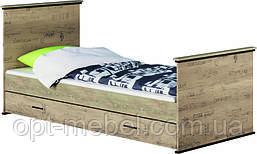 Кровать 1-сп без ящиков / с ящиками   Палермо Світ Меблів