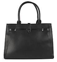 Большая каркасная стильная прочная женская Mariposa сумка  art.6258 черная, фото 1