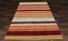 Купити килим з вовни помаранчевий