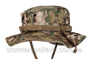 Панама чоловіча армійський камуфляж мультикам US GI DSCHUNGELHUT універсальний розмір Mil-Tec Німеччина