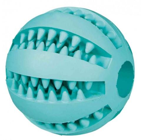 Игрушка для собак бейсбольный trixie DENTAfun мяч для зубов Mintfresh бейсбольный 5 см