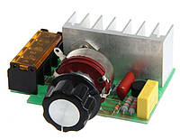 Регулятор мощности SCR (Диммер) AC 220V 4000 W (4 кВт)