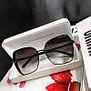 Очки JC с блестящими боковинками, фото 2