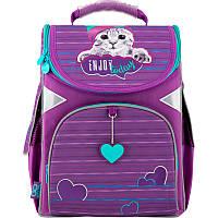 Рюкзак каркасный школьный GoPack 5001 Cat GO20-5001S-5