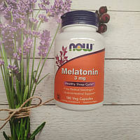 Now Foods Melatonin 3 mg 180 veg caps мелатонин