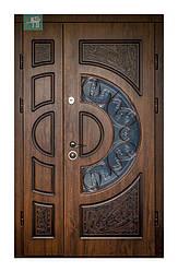 Двери ПВ-191 дуб темный Винорит
