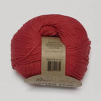 Хлопковая пряжа Cotton True Sport Fibra Natura Котон Тру спорт, разные цвета, красный