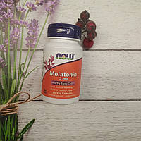 NOW Foods Melatonin 3 mg 60 tab мелатонин
