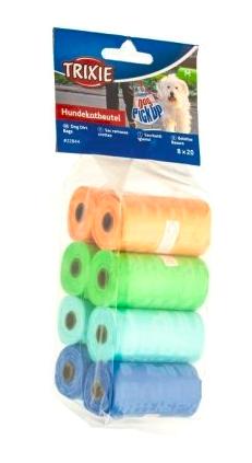 Trixie Одноразовые пакеты для уборки за собакой 8х20 шт