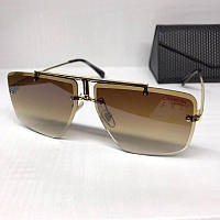 Жіночі сонцезахисні окуляри Carrera репліка коричневі