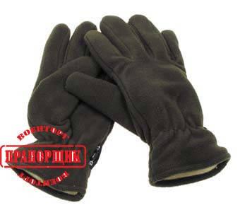 Перчатки флисовые MFH 15403B, фото 2