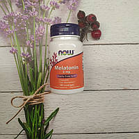 Now Foods Melatonin 3mg 180 lozengez , мелатонин жевательный