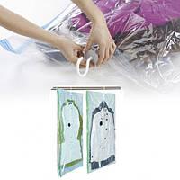"Пакет для вакуумной упаковки 70 х 145 см. с крючком ""МІЙ ДІМ"", фото 1"