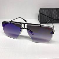Жіночі сонцезахисні окуляри Carrera репліка сині з градієнтом