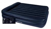 Велюр кровать 64122 со встроенным электронасосом 99х191х42 см кк