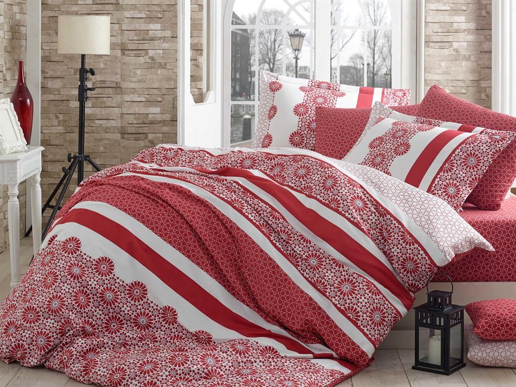 Комплект постельного белья семейный Exclusive Sateen Lisa 160x220x2 (8698499106109)