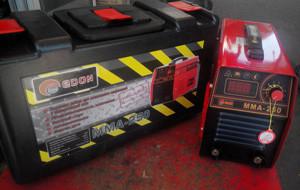 Сварочный инвертор Edon ММА-250 в чемодане(кейсе)