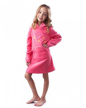 Флісова плаття дитяче (на ріст 110-146 різні кольори)