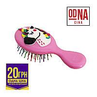 Щітка для волосся дитяча (хвиляста) 1шт. в асортименті