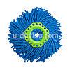 AQUAMATIC TURBO, НАСАДКА СИНЯЯ для влажной уборки особо загрязенных помещений Greenway / Гринвей