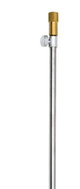 Подставка Flagman для удилища алюминиевая 50/90 см, без рогатки