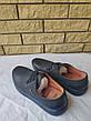 Туфли мужские спортивного стиля из экокожи( нубук), подошва прошита UF0QQ, фото 5