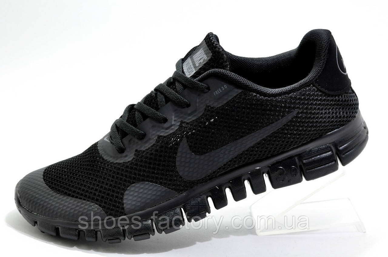 Мужские кроссовки стиле Nike Free Run 3.0 V2, 2020 All Black