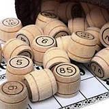 Лото с деревянными бочонками, фишками