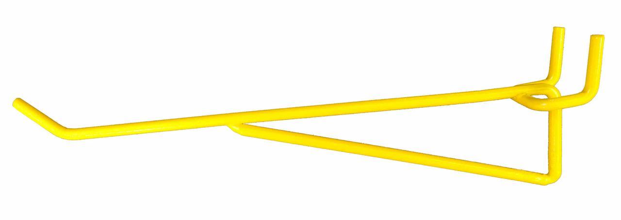 Крючок усиленный для перфорированной панели длина 200 мм, шаг 25 мм