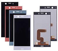 Дисплей для Sony Xperia XZ1 Compact G8441, модуль в сборе (экран и сенсор), оригинал, фото 1