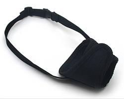 Намордник тканевый для собак Спорт №1 черный