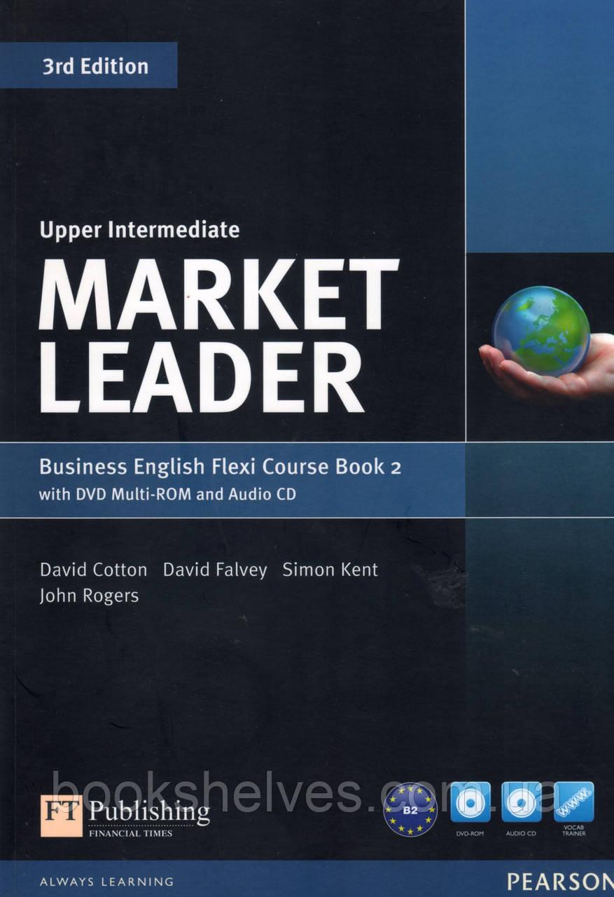 Market Leader 3rd Upper-Intermediate Flexi 2 +DVD+CD SB
