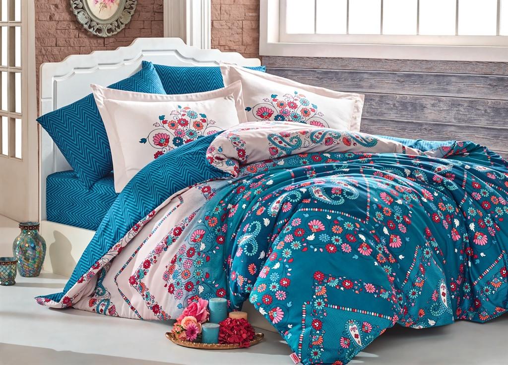 Комплект постельного белья семейный Exclusive Sateen Sancha 160x220x2 (35284_сім.)