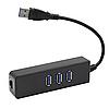 USB-HUB с 3-я портами USB 3.0 и LAN/A-RJ45 портом Kebidumei KY-888, фото 6