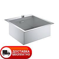 Кухонная мойка стальная Grohe EX Sink 31583SD0 серия K800 52*56