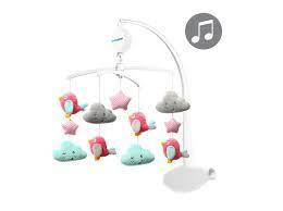Музичний мобіль Хмари і птиці BabyOno 626