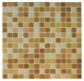 Китайская стеклянная мозаика микс бежевый NO-204N  производства Китай мозаика для кухни