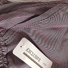 БАТАЛЬНЫЕ летние штаны N°17 Пл. (бордовая), фото 2