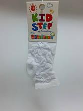 Шкарпетки дитячі, ажурні, розмір 14( р. взуття 20-22), колір білий