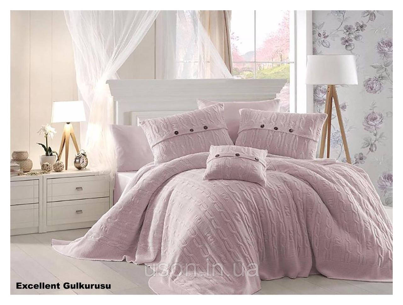 Комплект постельного белья  first choice евро размер c покрывалом Nirvana Excellent gulkurusu