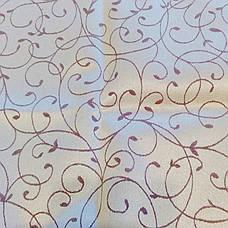 Тефлон Вьюнок-155 Скатертная Тканина Жаккард з просоченням 155см, фото 2