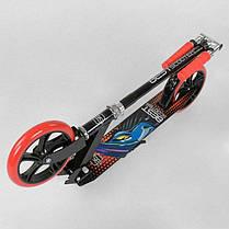 Алюминиевый складной самокат Best Scooter 30458 колеса PU 20см, фото 3