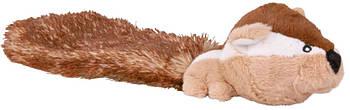 Игрушка для собак trixieбурундук плюшевый с хвостом 30 см