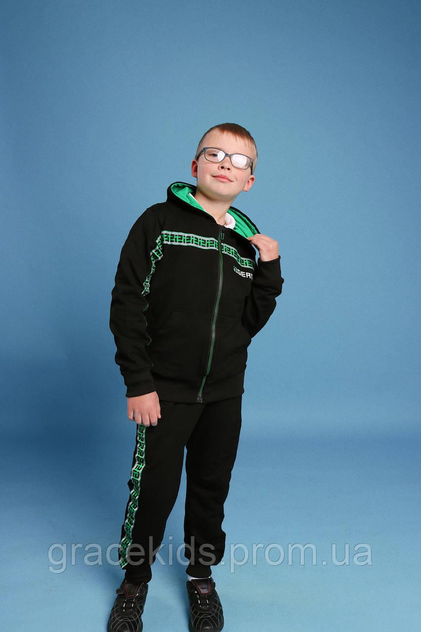 Подростковые спортивные костюмы для мальчиков GRACE,разм 134-164 см,95% хлопок